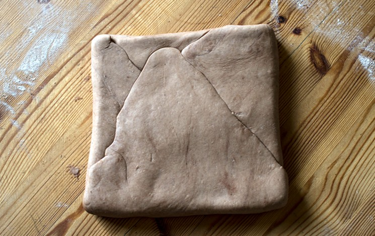 Рецепт шоколадного теста слоеного