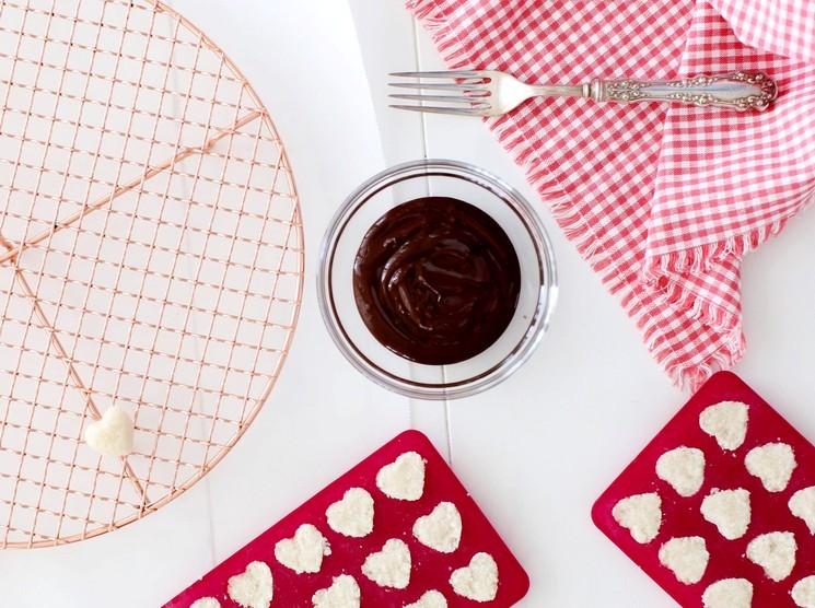 Шоколадные конфеты с кокосом шаг 3