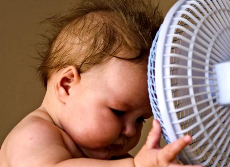 Солнечный удар у детей грудного возраста