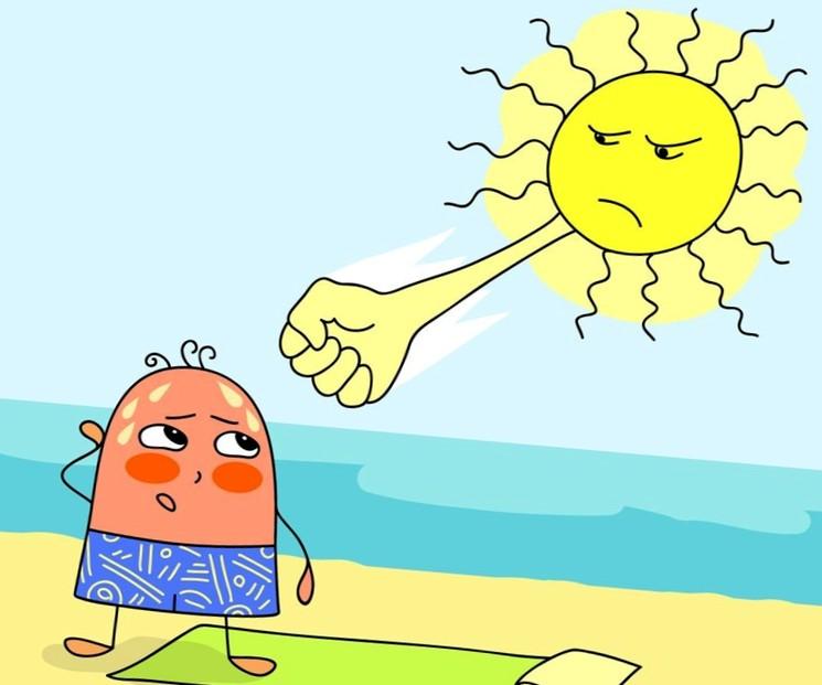 Почему солнечный удар может привести к тепловому удару