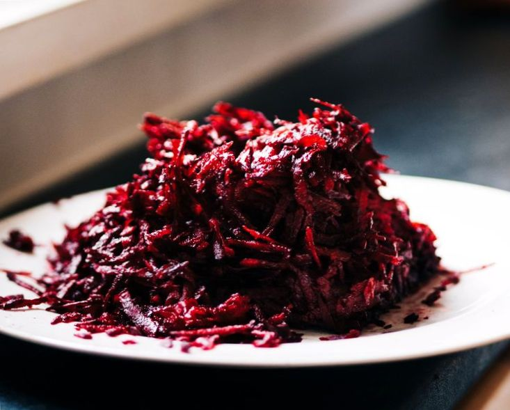 Свекла на зиму - рецепт салата из маринованной свеклы