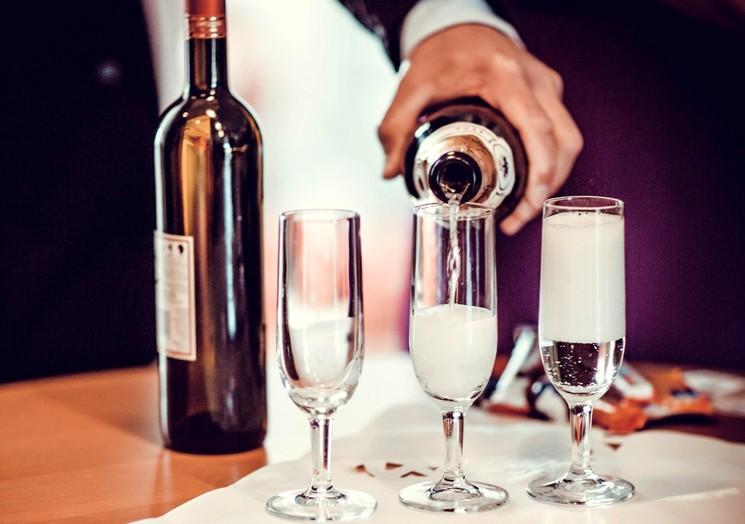 Технология производства игристых вин