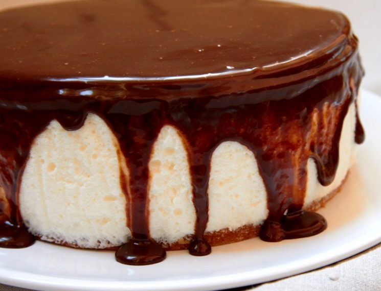 Торт птичье молоко без выпечки