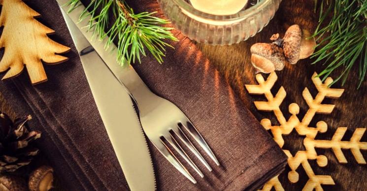 Новогоднее украшение дома и стола