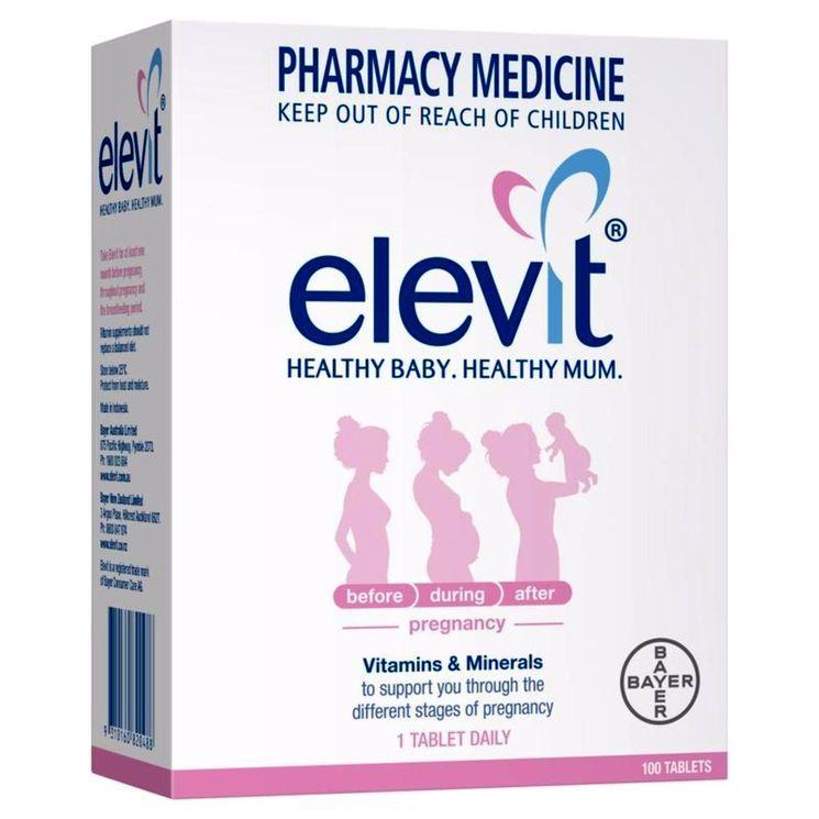 Витамины для беременных «Элевит Пронаталь»