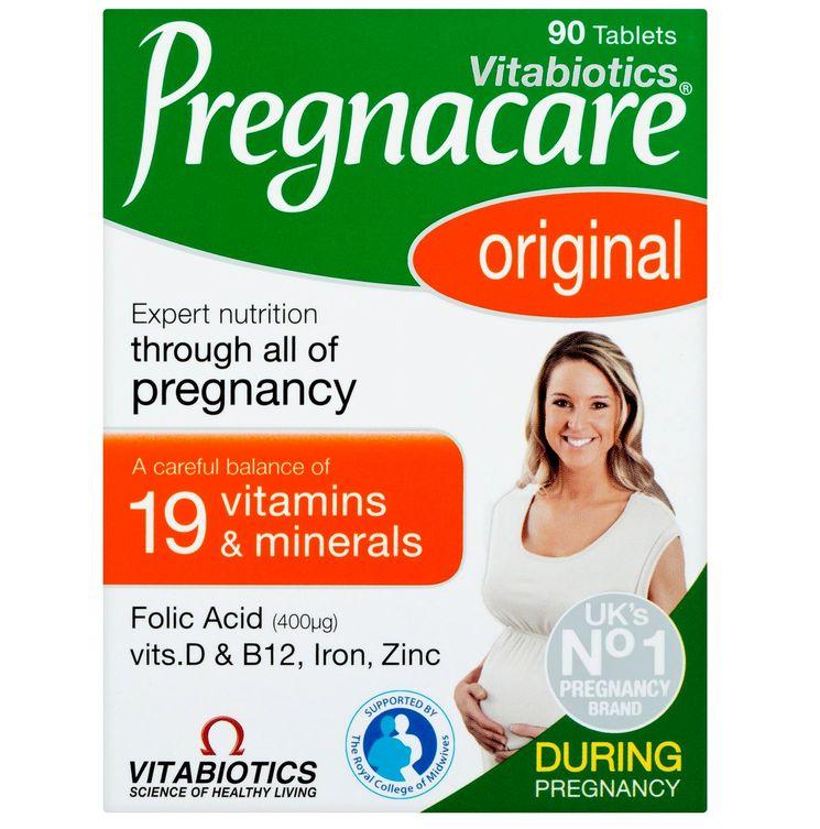 Витамины для беременных «Прегнакеа»