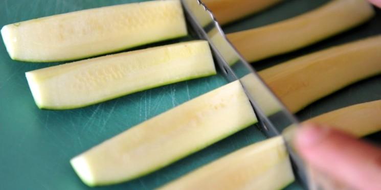 Запеченные кабачки рецепт с фото